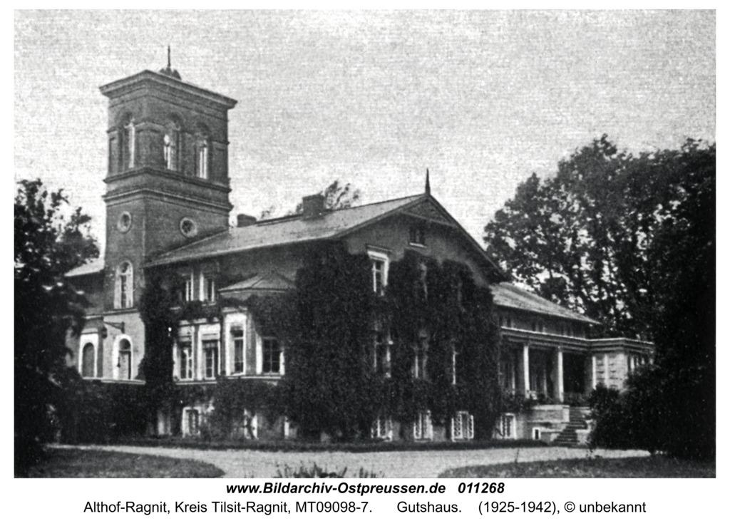 Althof-Ragnit, Gutshaus