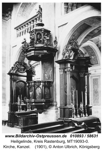 Heiliglinde, Kirche, Kanzel