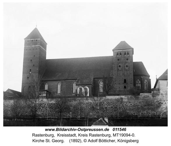 Rastenburg, Kirche St. Georg