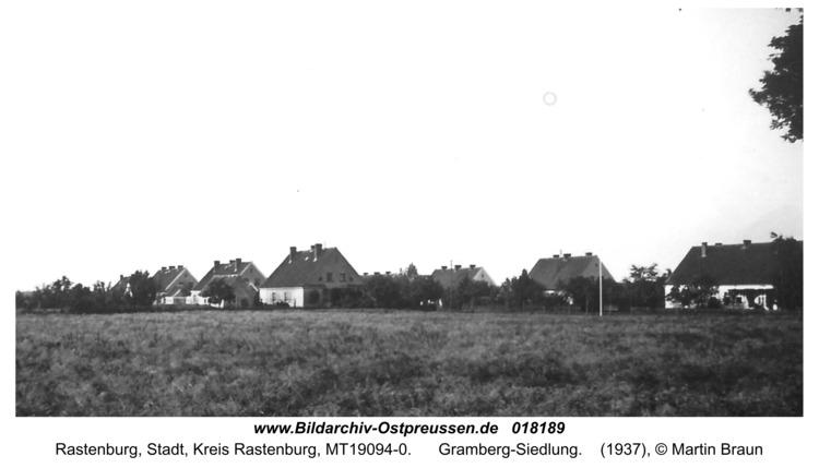 Rastenburg, Gramberg-Siedlung