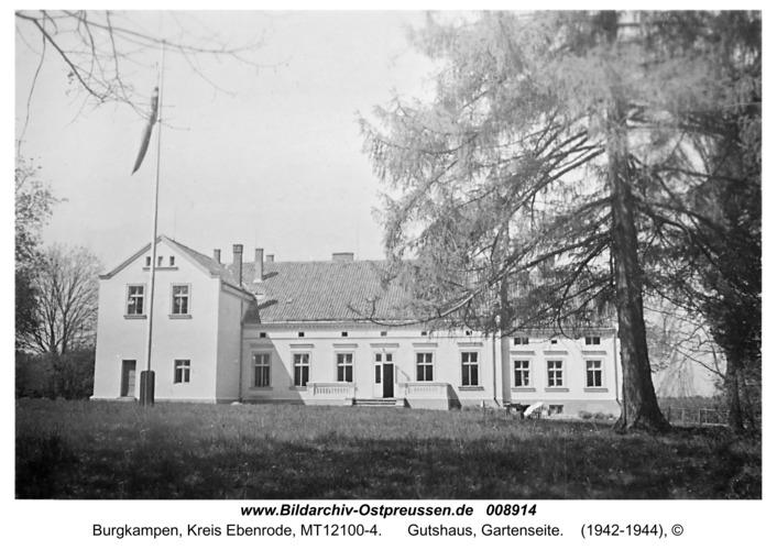 Burgkampen, Gutshaus, Gartenseite