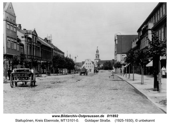 Stallupönen, Goldaper Straße