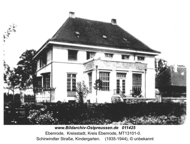 Ebenrode, Schirwindter Straße, Kindergarten