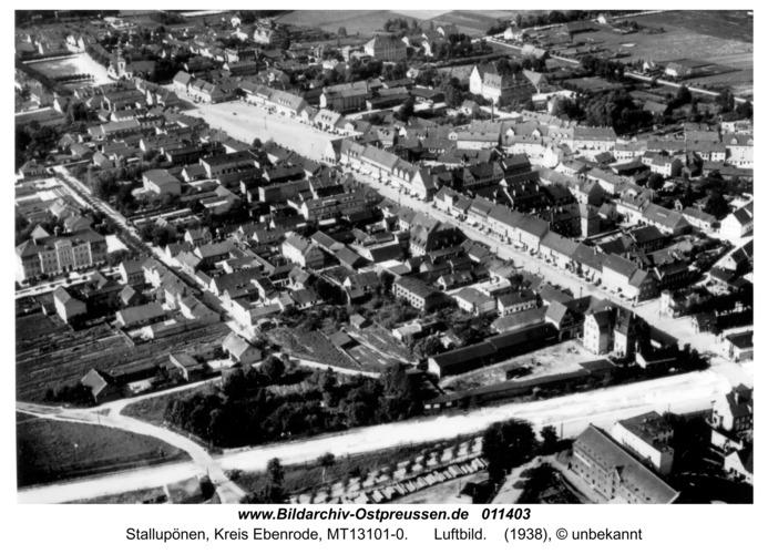 Stallupönen, Luftbild 2