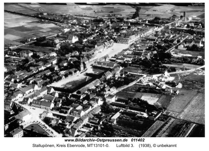 Stallupönen, Luftbild 3