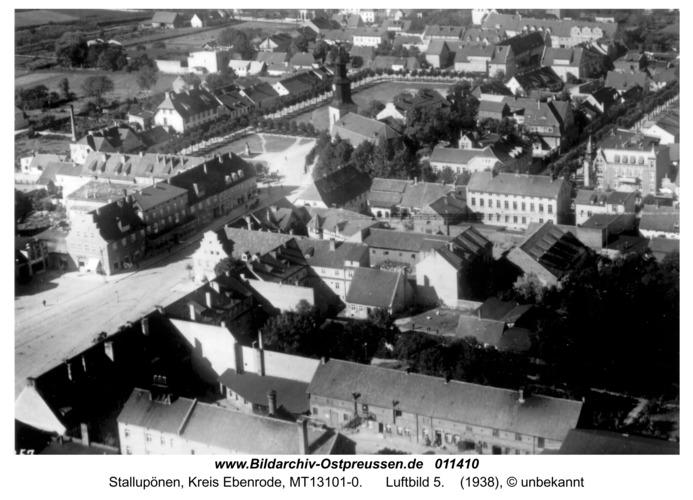 Stallupönen, Luftbild 5