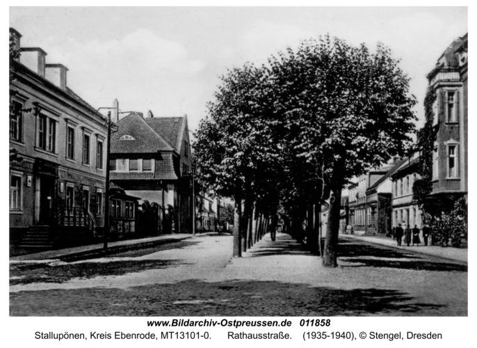 Stallupönen, Rathausstraße