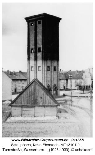 Stallupönen, Turmstraße, Wasserturm