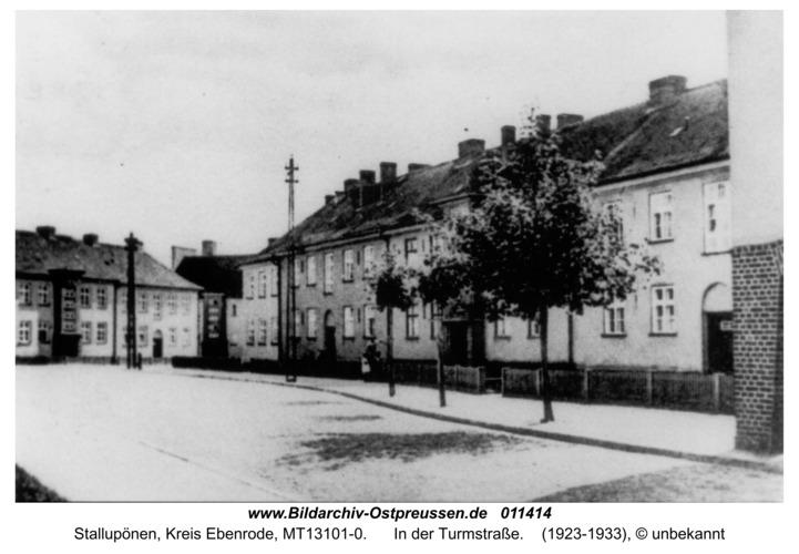 Stallupönen, In der Turmstraße