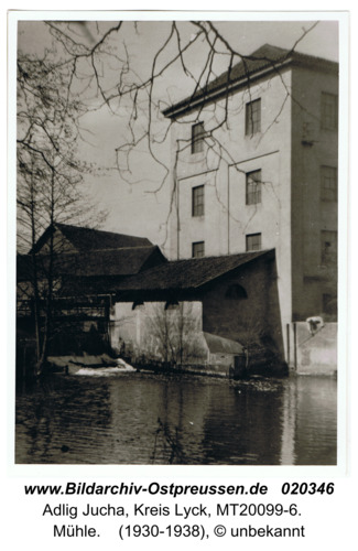 Adlig Fließdorf, Mühle