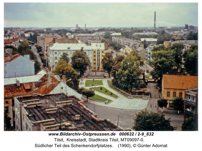 Tilsit, Südlicher Teil des Schenkendorfplatzes