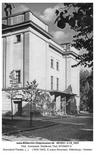 Tilsit, Grenzland-Theater, Eingangsbereich