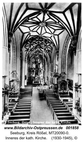 Seeburg, Inneres der kath. Kirche