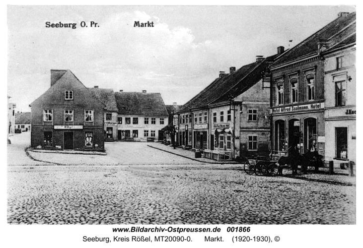 Seeburg, Markt