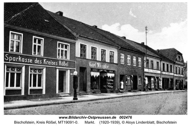 Bischofstein, Markt