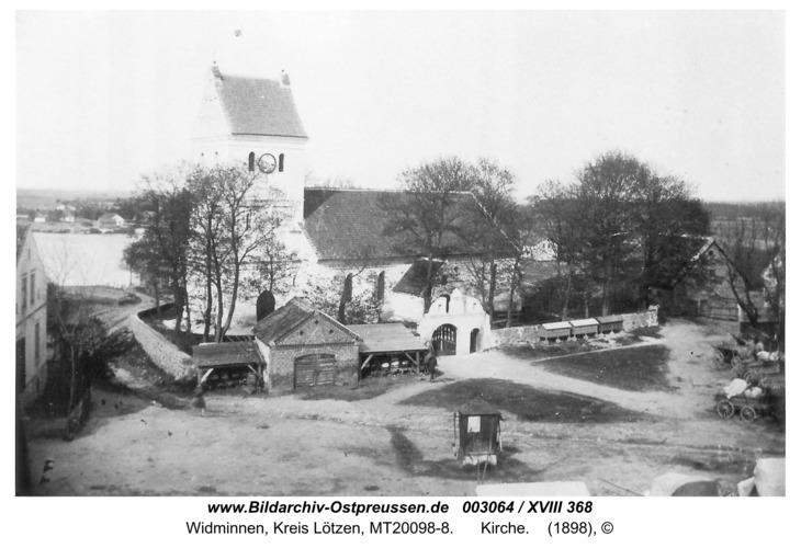 Widminnen, Kirche
