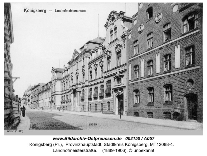 Königsberg, Landhofmeisterstraße