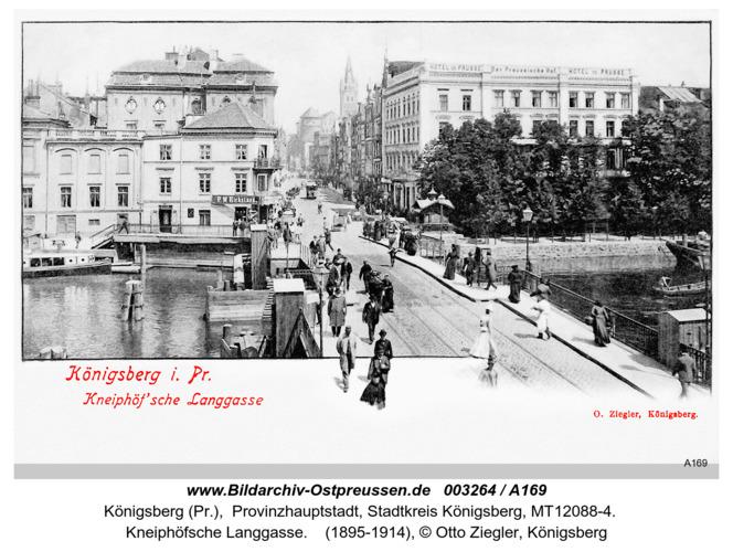 Königsberg, Kneiphöfsche Langgasse