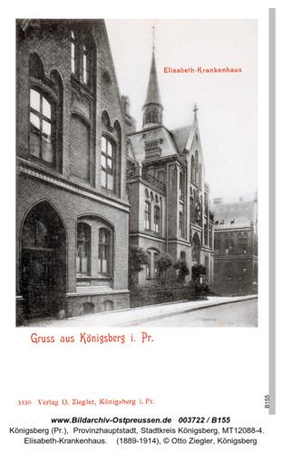 Königsberg, Elisabeth Krankenhaus