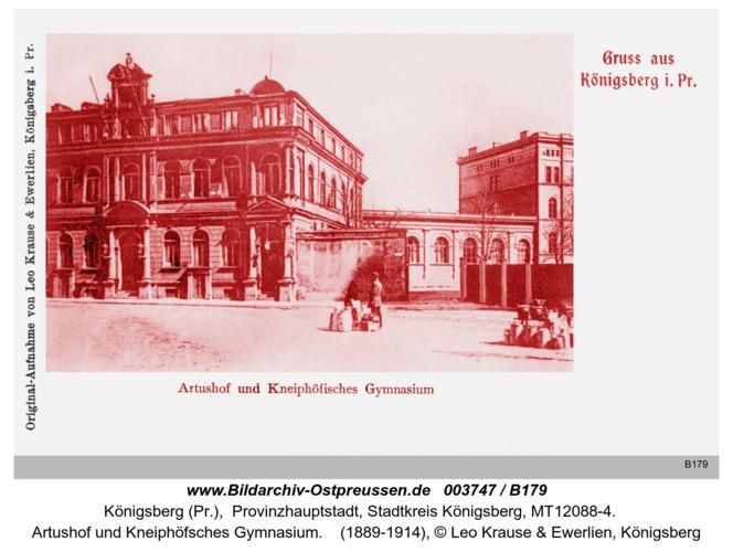 Königsberg, Artushof und Kneiphöfsches Gymnasium