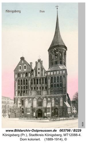 Königsberg, Dom koloriert