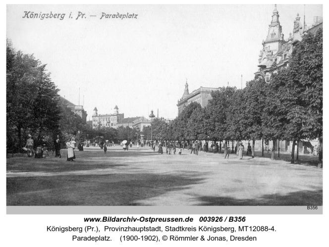 Königsberg, Paradeplatz