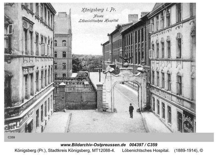 Königsberg, Löbenichtsches Hospital