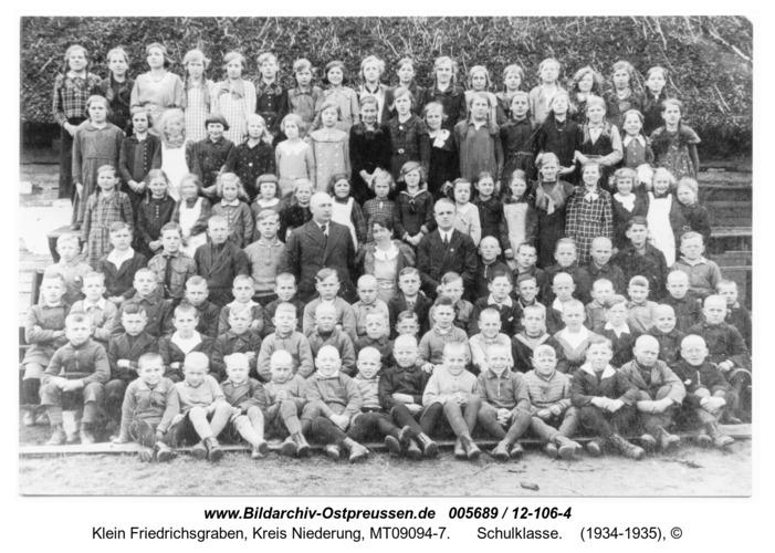Klein Friedrichsgraben, Schulklasse