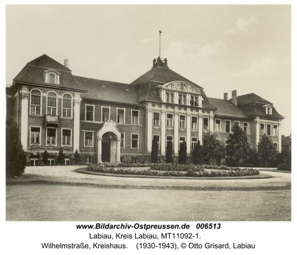 Labiau, Wilhelmstraße, Kreishaus