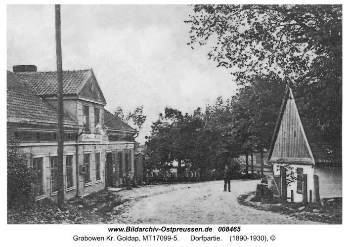 Arnswald (fr. Grabowen), Dorfpartie