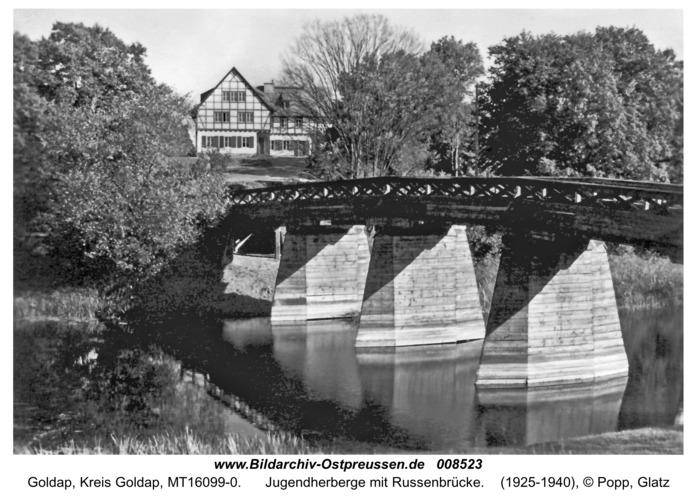 Goldap, Jugendherberge mit Russenbrücke