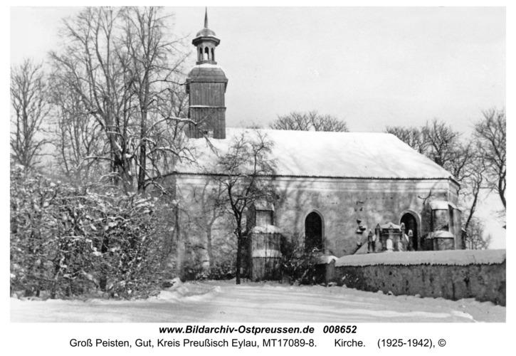 Groß Peisten, Kirche
