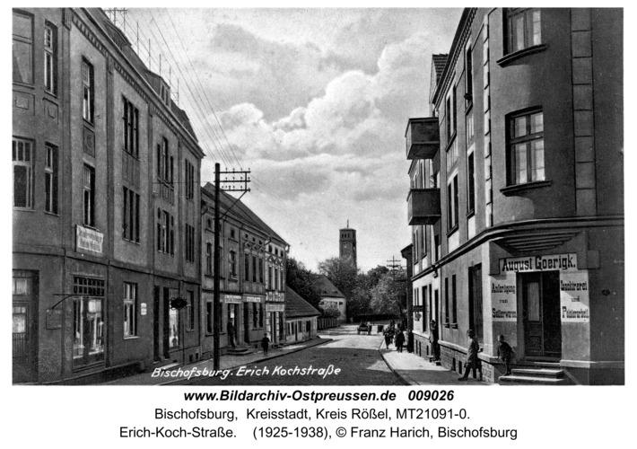 Bischofsburg, Erich-Koch-Straße