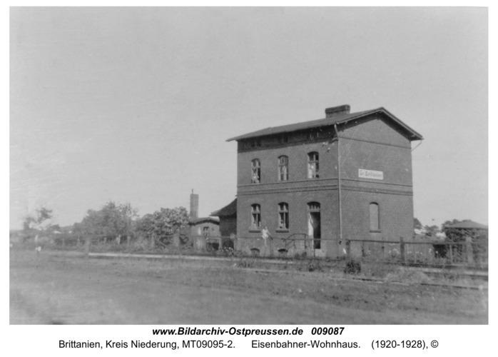 Brittanien, Eisenbahner-Wohnhaus