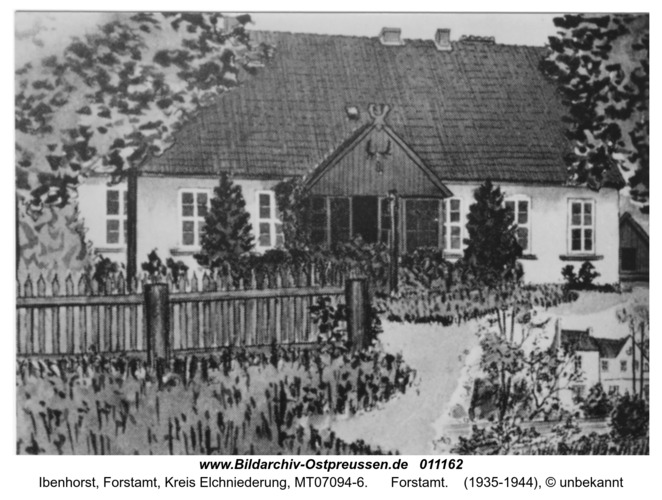 Ibenhorst, Forstamt