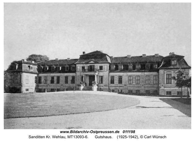 Sanditten, Gutshaus