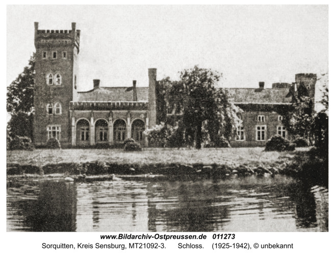 Sorquitten, Schloss