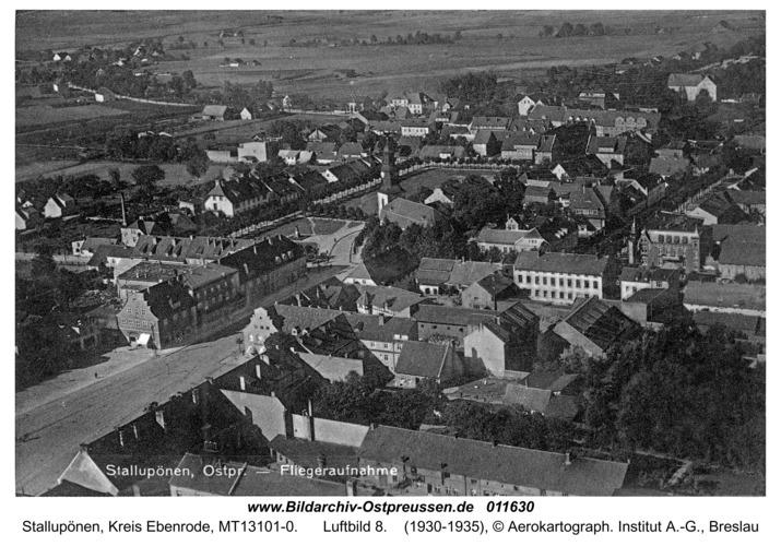 Stallupönen, Luftbild 8