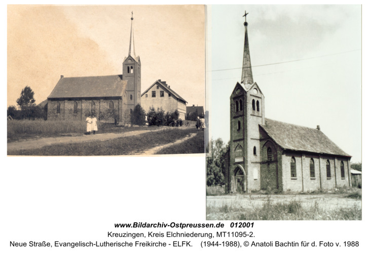 Kreuzingen, Neue Straße, Evangelisch-Lutherische Freikirche - ELFK