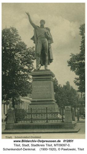 Tilsit, Schenkendorf-Denkmal