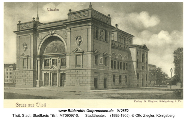 Tilsit, Stadttheater