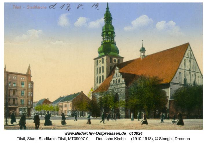 Tilsit, Deutsche Kirche