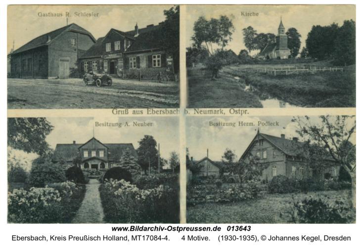 Ebersbach bei Neumark, 4 Motive