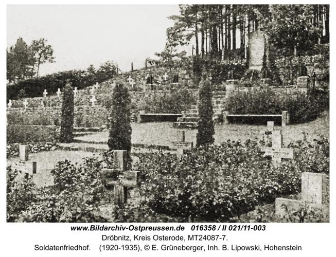Dröbnitz, Soldatenfriedhof