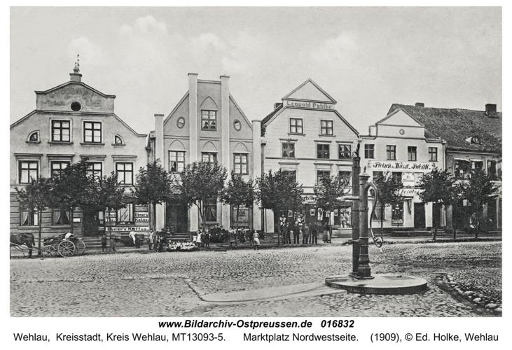 Wehlau, Marktplatz Nordwestseite