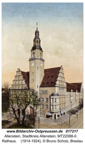 Allenstein, Rathaus