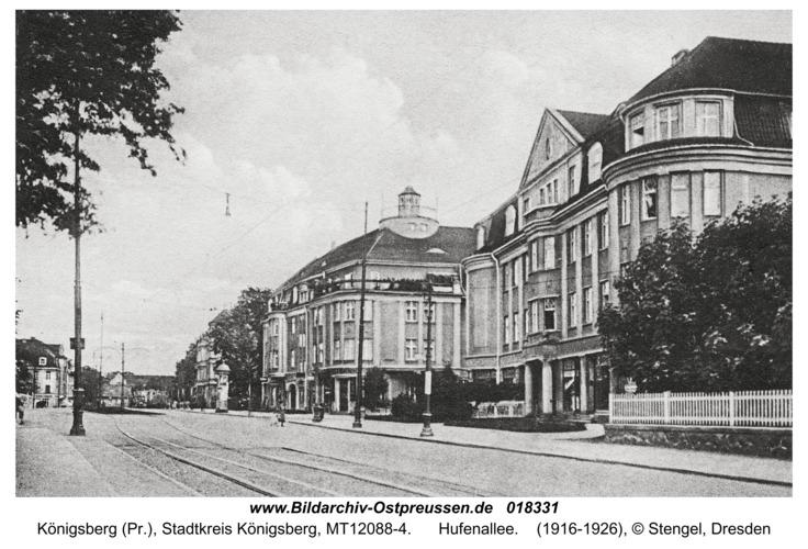 Königsberg, Hufenallee