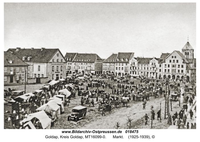 Goldap, Markt