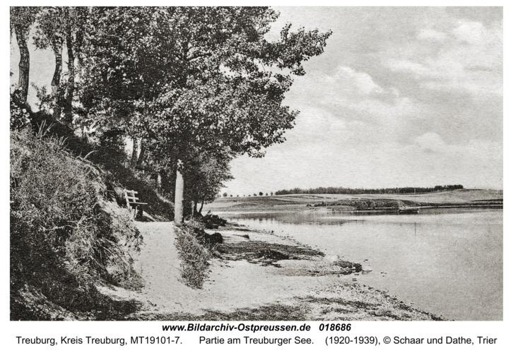 Treuburg, Partie am Treuburger See