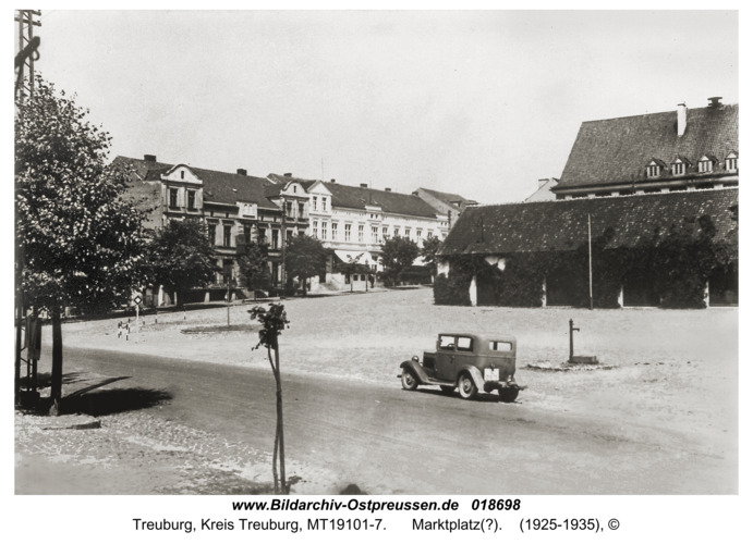 Treuburg, Marktplatz(?)